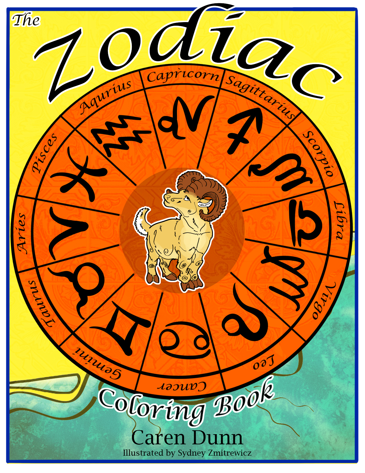 Zodiac Coloring Book Original